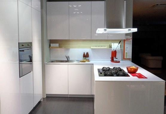 cocina moderna para espacios pequeños 05