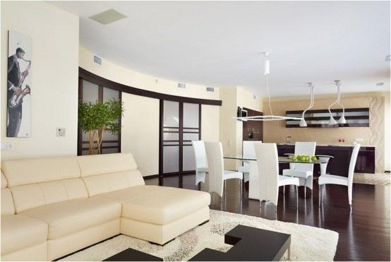 Moderno y acogedor departamento con un increible cuarto de for Departamento del interior