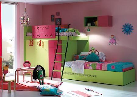 Literas para dormitorios infantiles | Interiores