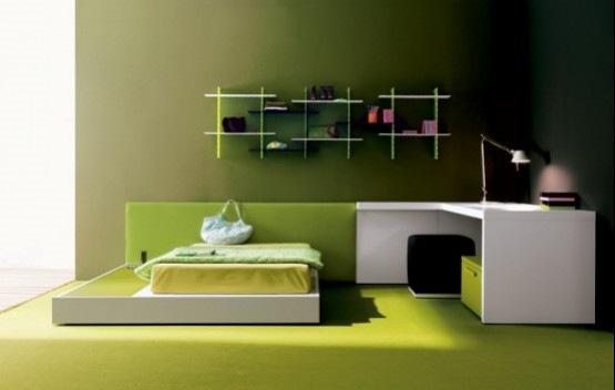 12 modernas y elegantes habitaciones para los adolescentes | Interiores
