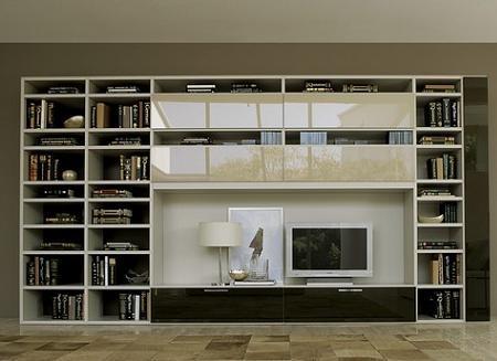 Muebles modulares para la tv interiores for Muebles modulares para television