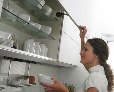 Ideas para decorar cocinas peque as interiores for Alacenas para cocinas pequenas