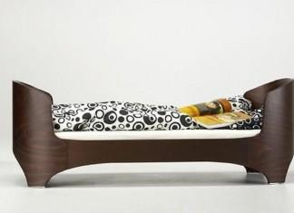 cama-minimalista-dormitorio-infantil-marron