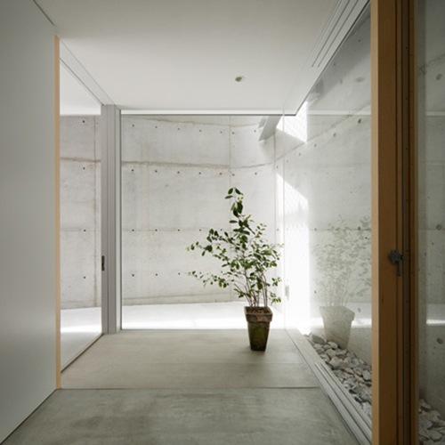 Casa Minimalista En Minamimachi Por Suppose Design Office