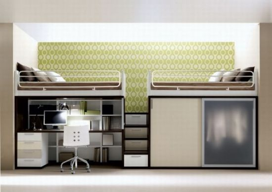 Literas de dise o para espacios reducidos interiores - Miniature room boxes interior design ...