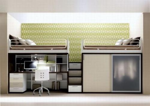 Literas de dise o para espacios reducidos interiores for Diseno de libreros para espacios pequenos