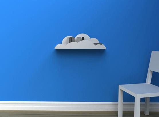 repisas con forma de nube 01