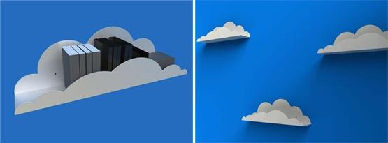 repisas con forma de nube 02