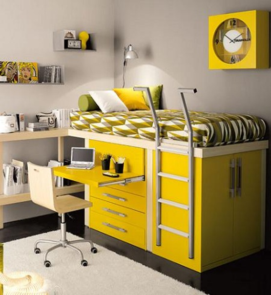 Muebles infantiles modernos dormitorios genuardis portal for Muebles infantiles modernos