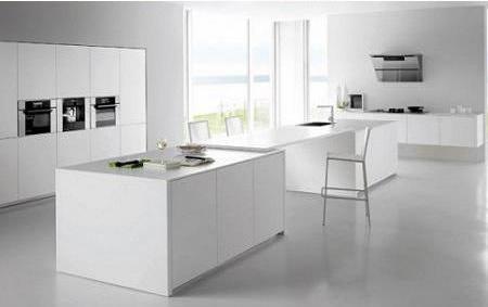 Cocinas en color blanco