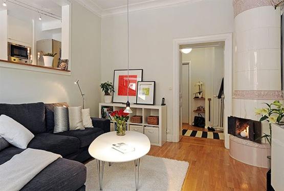 Hermoso departamento con detalles vintage interiores for Modelo de departamento pequeno