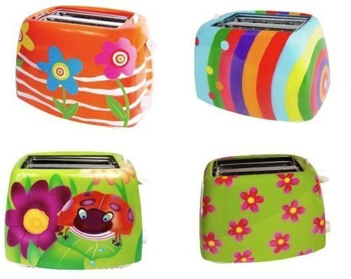 tostadoras coloridas