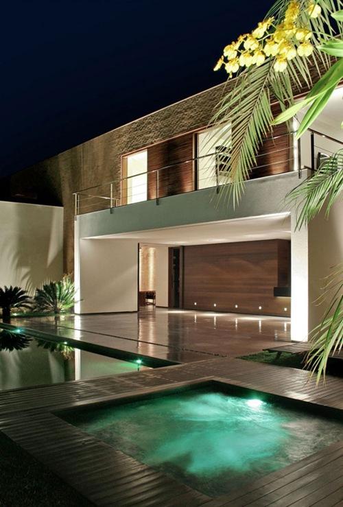 Inspiraci n casa sf por studio guilherme torres interiores for Casas minimalistas bonitas