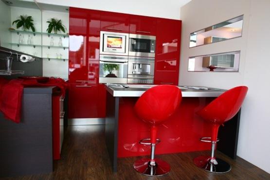 Sillas para acompa ar tu barra en la cocina interiores for Sillas de madera modernas para cocina