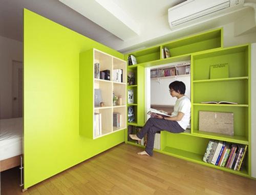 Inspiraci n muro divisorio para apartamentos peque os - Paredes divisorias ...