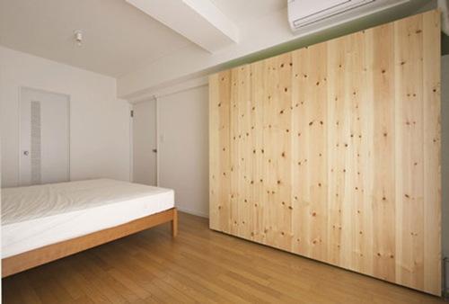 Inspiraci n muro divisorio para apartamentos peque os - Muros decorativos para interiores ...