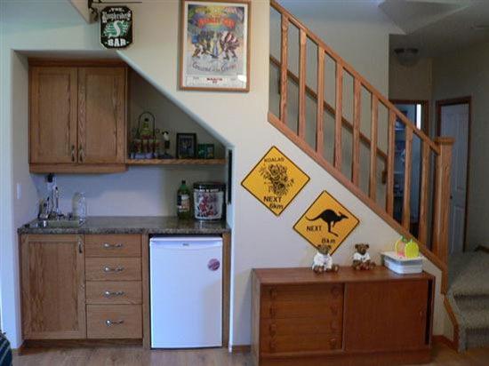 under-stair-design kitchen