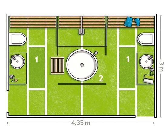 Accesorios Baño Verde:banos37_4g