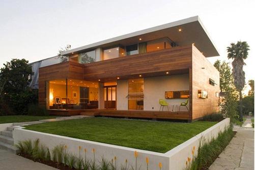 Casa de estilo californiano construida para la vida al Casas estilo minimalista interiores
