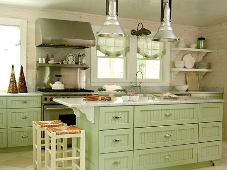 s w kitchen cabinets ideas para decorar tu cocina con el color verde interiores 25806