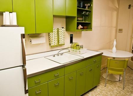 Ideas para decorar tu cocina con el color verde interiores - Como decorar tu cocina ...