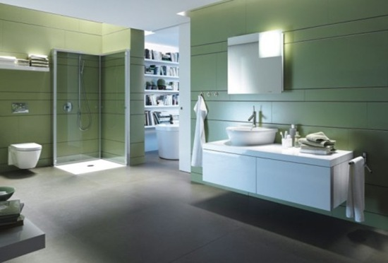 Nueva colecci n de ba os modernos por duravit interiores for Banos modernos para departamentos