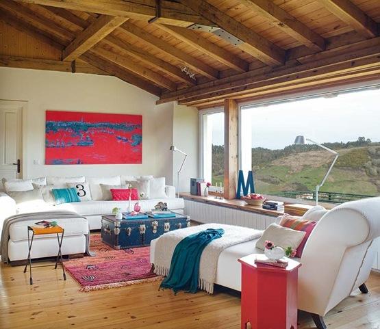 Hermosa Casa De Campo Con Esp Ritu Rural Interiores