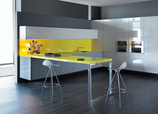 clean-yellow-feature-kitchen-design-588x424