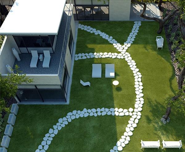 Iluminaci n para tu jard n con doble prop sito por for Iluminacion para exteriores
