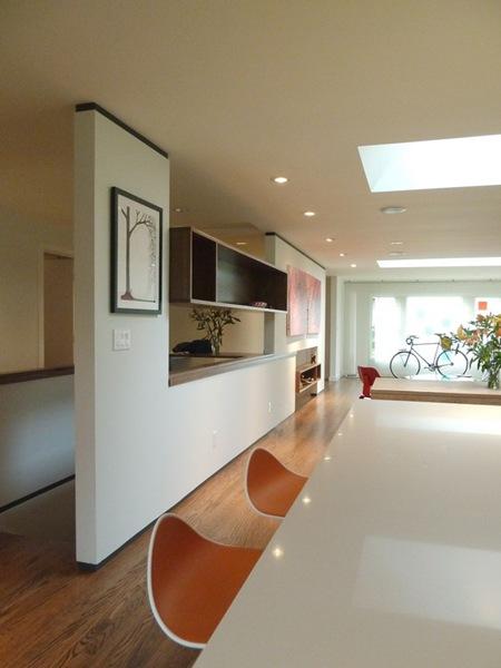 Interiores contempor neos by shed interiores for Divisiones para sala y cocina