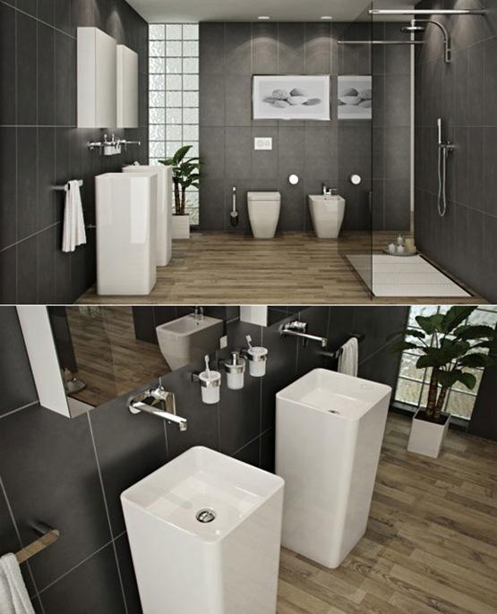 Decoracion De Interiores Baños Minimalistas:Minimalist Bathroom Design Ideas