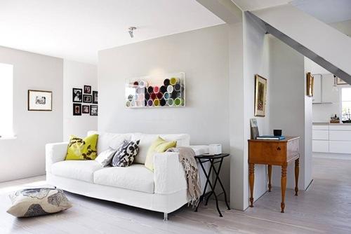 Decorando y reciclando con cubetas de pintura interiores - Decoracion interiores pintura ...