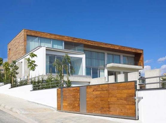 Residencia Adamos Una Residencia Luminosa En Chipre Interiores