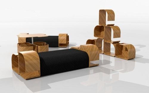 Muebles de cocina convertible interiores for Muebles convertibles