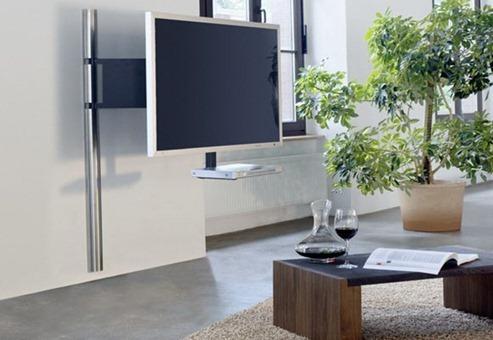 Estilo en muebles y soportes para tv interiores for Muebles de oficina lujosos