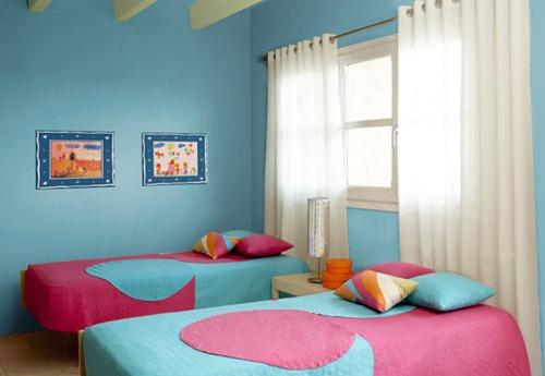 Habitaciones compartidas para ni os interiores - Habitaciones infantiles compartidas pequenas ...