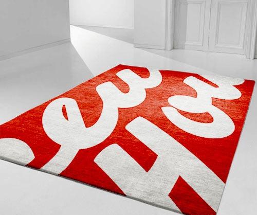 trendy-red-modern-rug