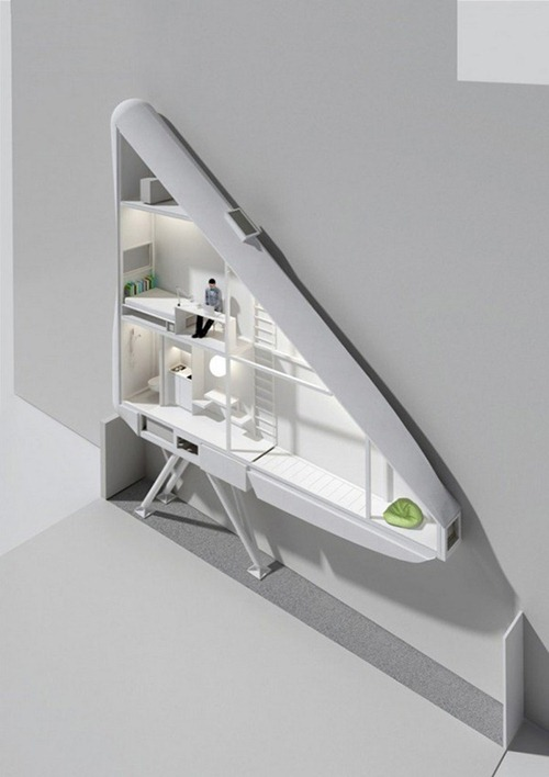 Keret-House-by-Centrala-thinnest-flat-in-the-1