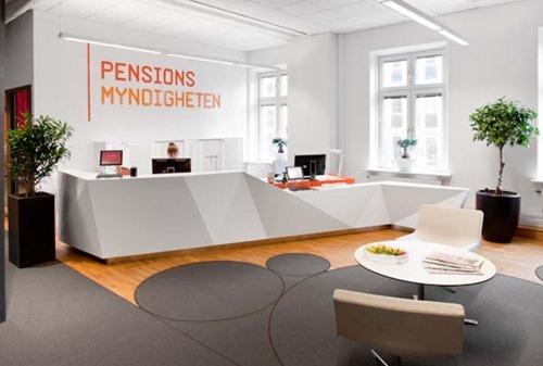 dise o de interiores en oficina en suecia interiores