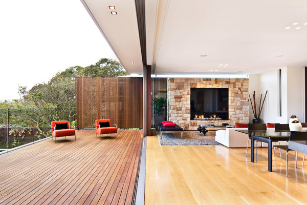 Inspiracion arquitectura casa moderna con espacios for Arquitectura moderna casas interiores