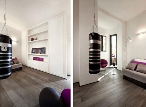 Elegante departamento minimalista en la ciudad de roma for Departamentos pequenos lujosos