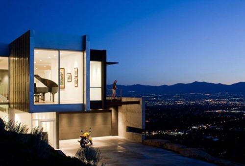 House 6 Casa H: Arquitectura Moderna en Salt Lake City