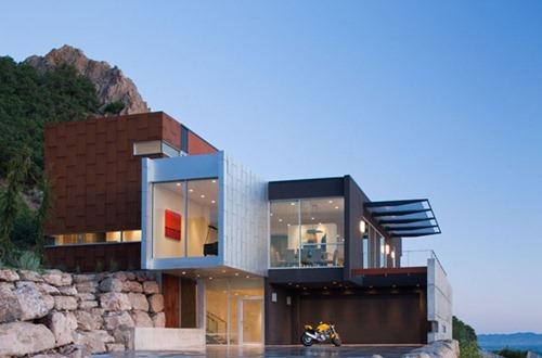 Casa h arquitectura moderna en salt lake city interiores for Arquitectura moderna casas pequenas
