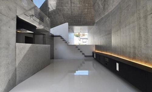 Arquitectura japonesa moderna con geometr a interiores - Escalera japonesa ...