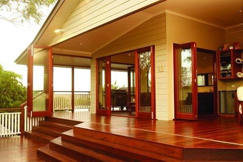 Puertas de cristal para el porche interiores - Puertas para porches ...