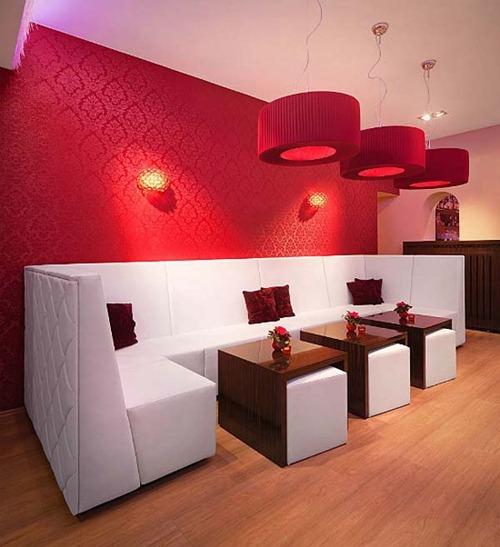 Bar De Moda Glamoroso En Alemania Interiores