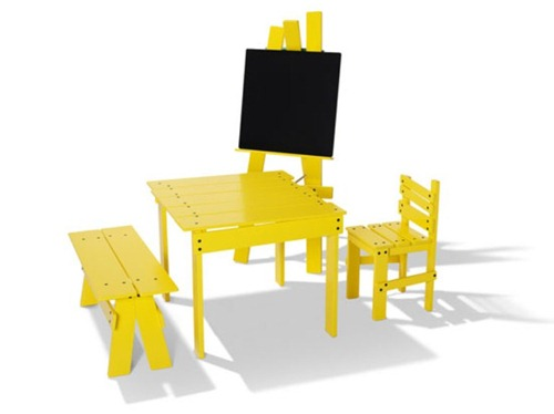 funny-yellow-kids-furniture-1