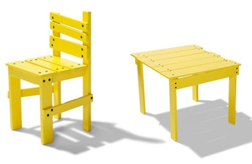 funny-yellow-kids-furniture-3