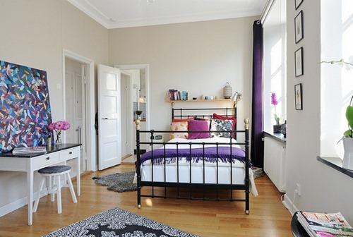 Apartamento de dos habitaciones con decorado y estilo for Departamentos decorados