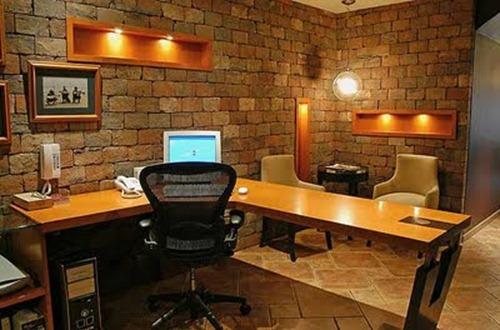 Decoraci n en oficinas interiores for Fachadas modernas para oficinas